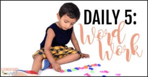 Daily 5: Word work