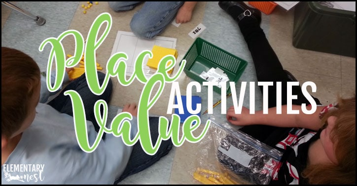 Place Value Activities and Centers