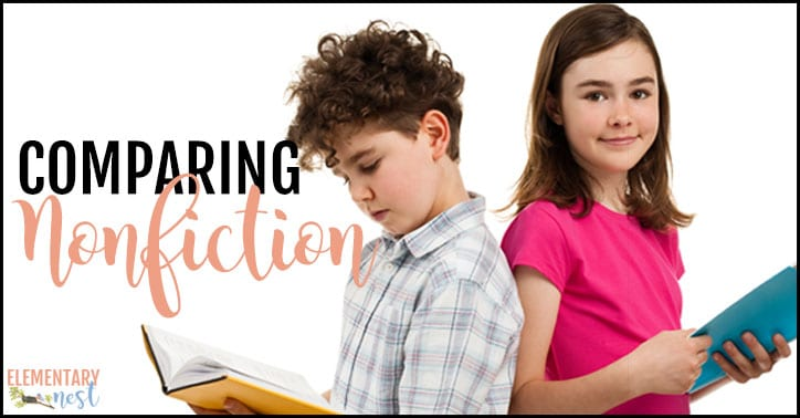 Comparing nonfiction texts in the classroom