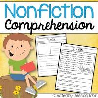 Nonfiction comprehension