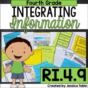 Integrating information 4th grade