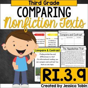 Comparing nonfiction texts 3rd grade
