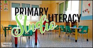 Literacy studio for primary