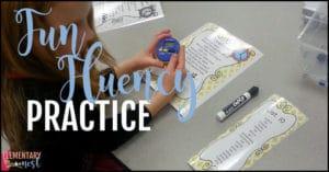 Fun fluency practice
