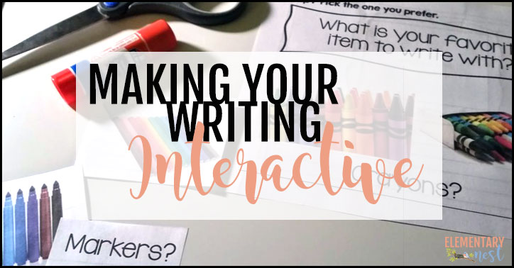 How to make your writing fun with Interactive Writing Activities