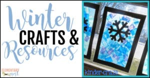 Winter crafts and resources