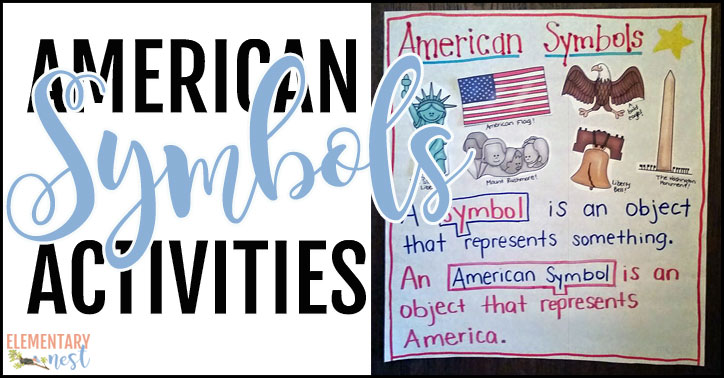 Teaching American symbols with activities