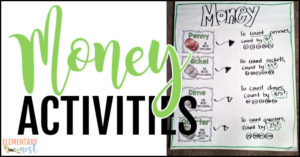 Teaching money activities