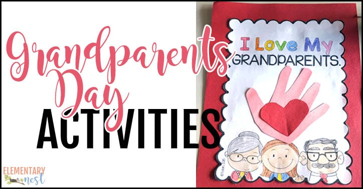 Grandparents Day activities for the primary classroom.