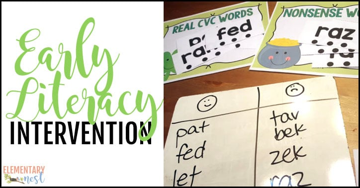 Intervention Activities and Small Group Practice