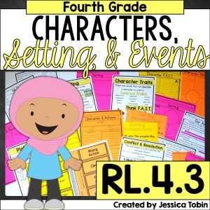 4th grade characters, setting and events RL.4.3