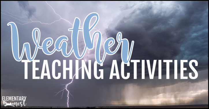 Teaching weather in the primary classroom.
