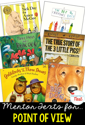 Point of View Literature suggested book titles