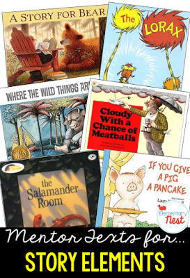 story elements suggested read alouds