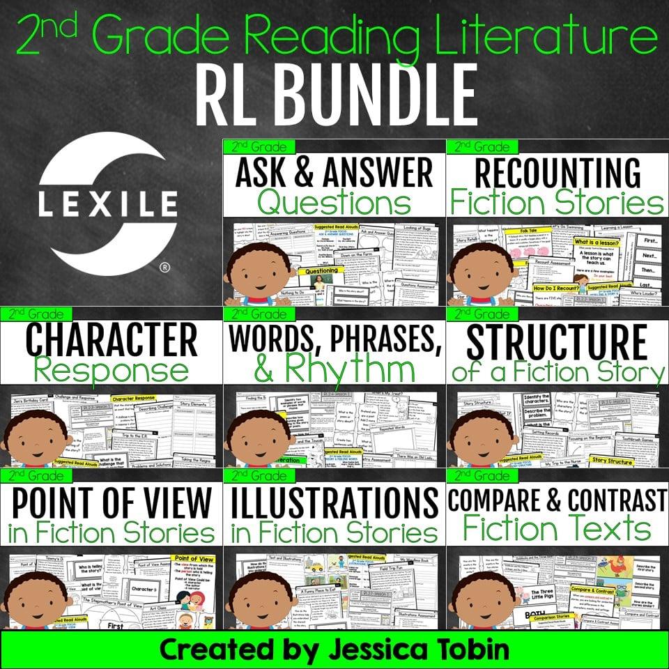 2nd grade reading literature RL bundle