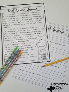 Story Structure activities for 3rd grade (beginning, middle, and end.)