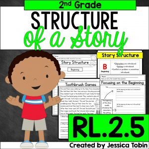 Structure of a story RL.2.5