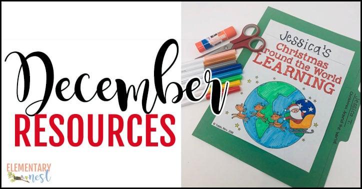 December Resources for K-3.