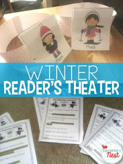 Winter-themed Readers Theater for children - January Resources for K-3.