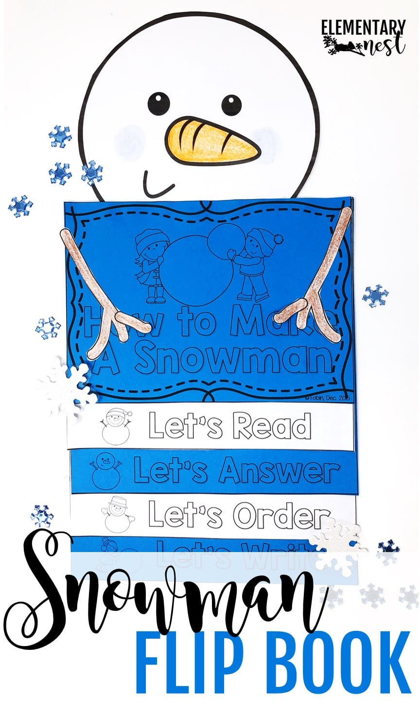 January Resources for K-3 - Snowman reading and snowman activities.