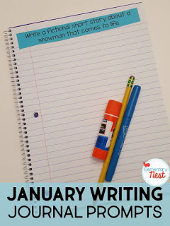 Winter journal writing prompts.