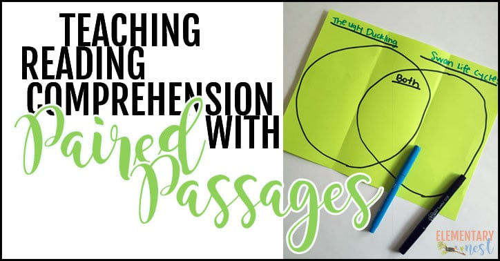How to use paired passages to teach reading comprehension.