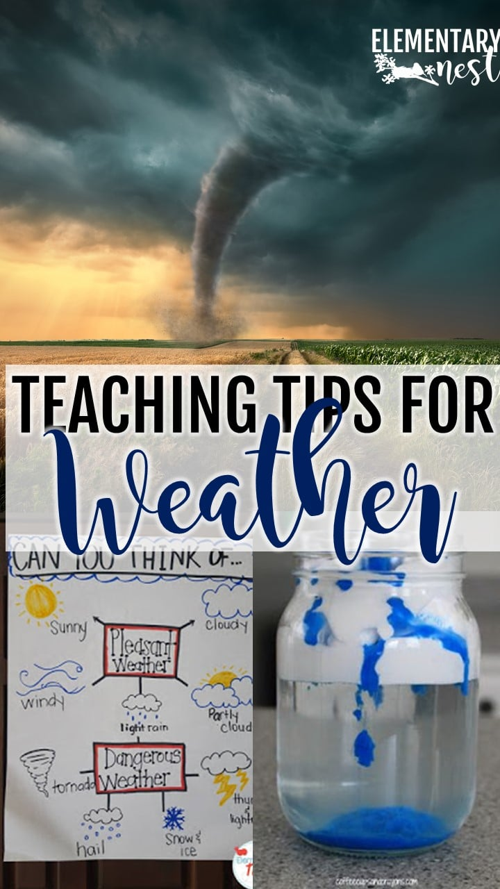 Science and reading hands-on activities for students to learn about the different weather patterns.