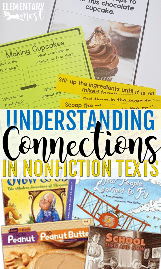 Understanding connections in nonfiction texts for elementary students.
