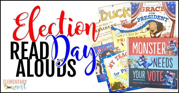 Election day read alouds for elementary teachers.