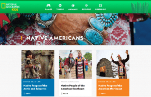 website image for Native American lessons