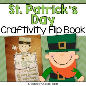St. Patrick's Day craftivity for primary classroom.