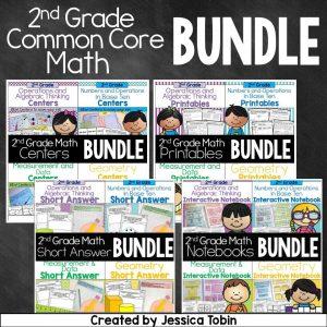 2nd grade Common Core math bundle.