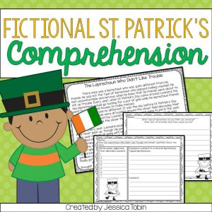 St. Patrick's Day themed fictional comprehension activity.