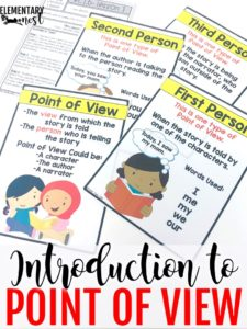 Introduction to point of view activity.