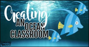 Creating an ocean themed classroom