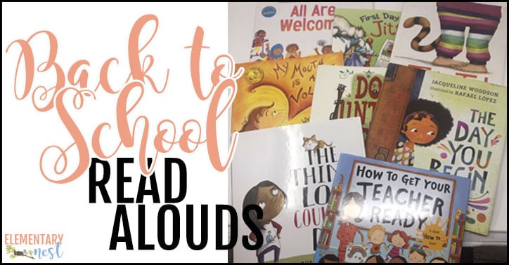 Back to school read alouds.