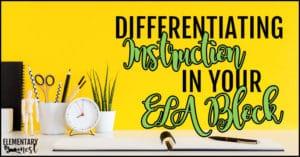 Differentiating ELA