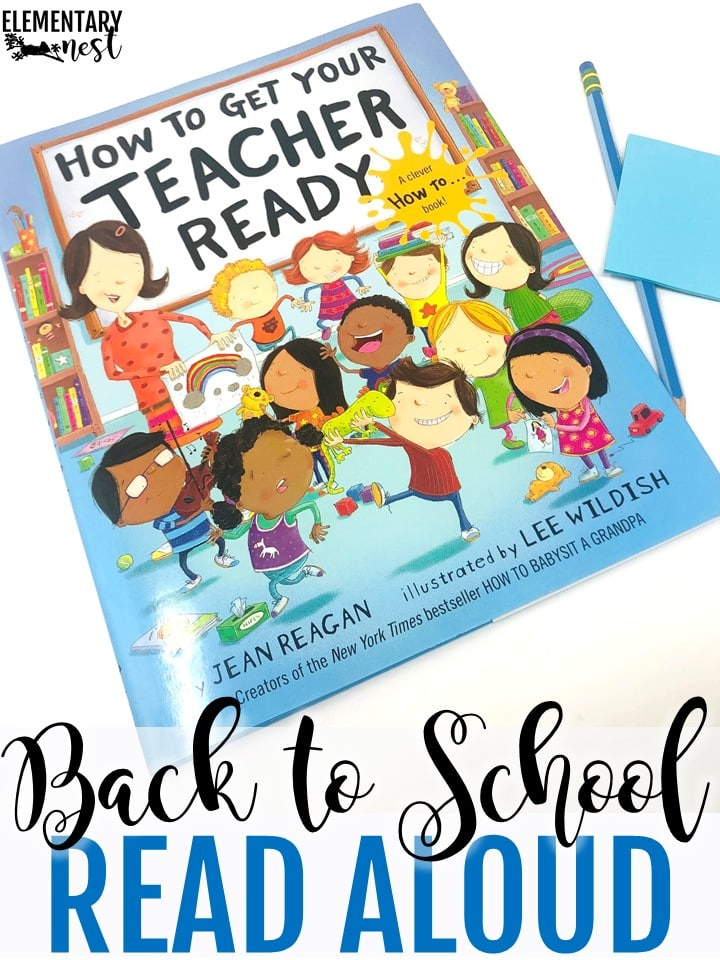 How to Get Your Teacher Ready back to school themed read aloud.