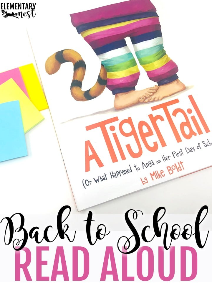 A Tiger Tail (Or What Happened to Anya on Her First Day of School) back to school themed read aloud.