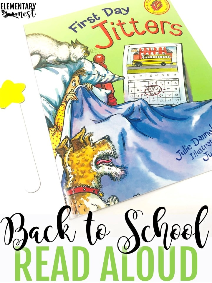 First Day Jitters back to school themed read aloud.