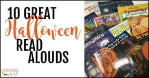 Halloween read alouds