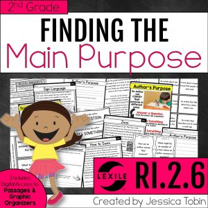 2nd grade finding the purpose unit