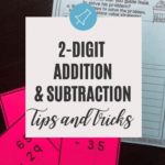 2-digit addition and subtraction strategies blog post