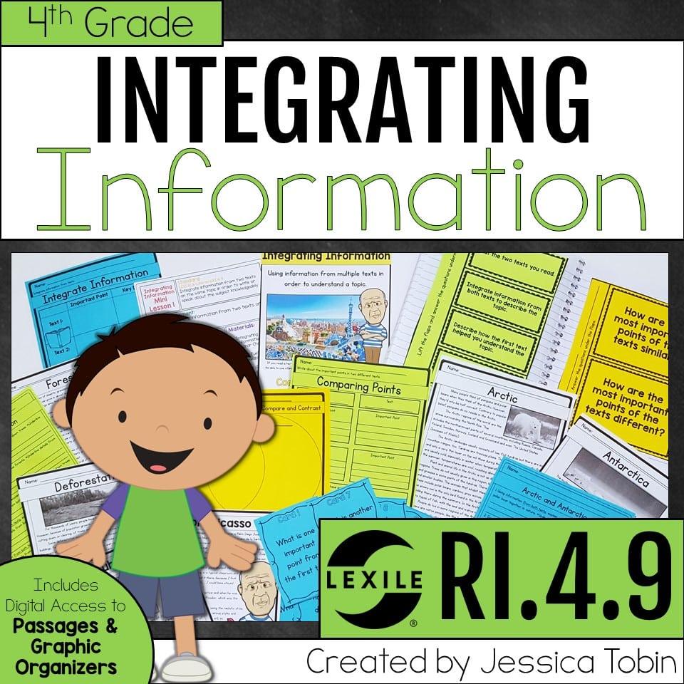 4th grade integrating information