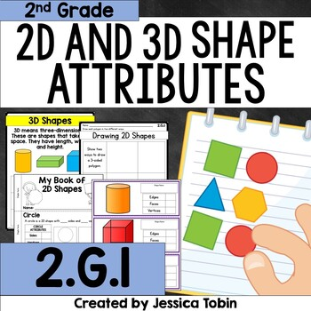 2.G.1 2D and 3D Shapes Attributes