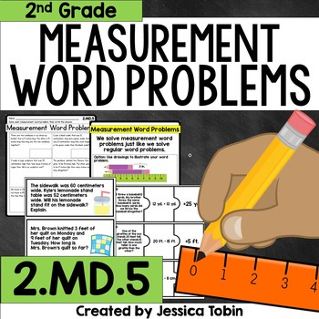 2.MD.5 Measurement Word Problems
