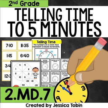 2.MD.7 Telling Time to the Nearest Five Minutes
