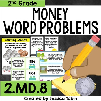 2.MD.8 Money Word Problems
