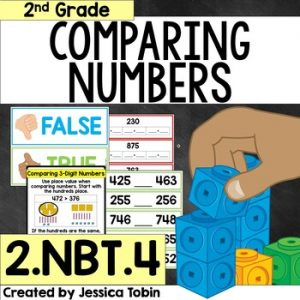 2.NBT.4 Comparing Two Three-Digit Numbers