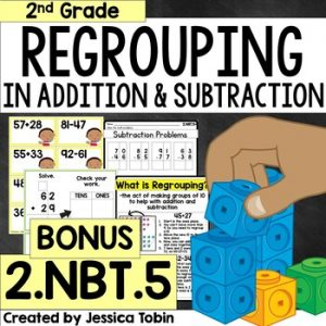 2.NBT.5 Bonus- How to Regroup in Addition and Subtraction Problems